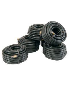 Airhose, 10mmx10mtr, Rubber, 1/4BSP Swivel Thread
