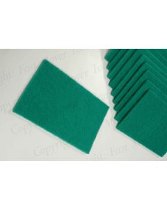 Abrasive Surface Conditioning Pad, Green, 10pcs 150 x225mm