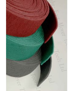 Fast Mover Tools, Red Medium Non-Woven Abrasive Surface Conditioning Roll, 10mtr