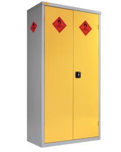 Paint Storage Cupboard, 1900mm x 460mm C/W 3 x Shelves