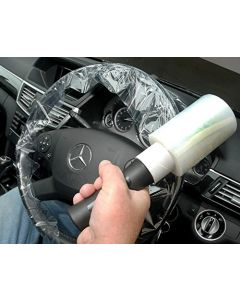 Fast Mover Tools, Wraparound Steering Wheel Cover, 10 Rolls & Dispenser