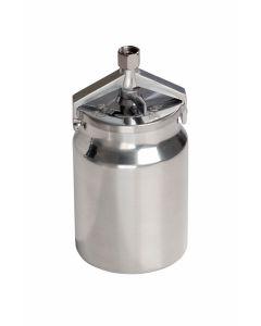 Spraygun Paint Pot, 1000Ml, Aluminium For Suction Feed Guns