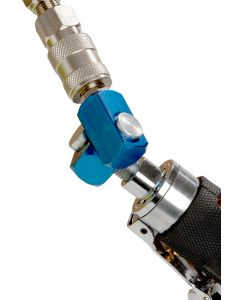 Fast Mover Tools, Air Tool & Hose Swivel Connector, 1/4 BSP Thread