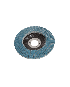 115mm 60 Grit Zirconium Flap Disc With 22.2mm Centre Bore, 10 Discs