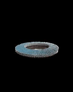 115mm 40 Grit Zirconium Flap Disc With 22.2mm Centre Bore, 10 Discs