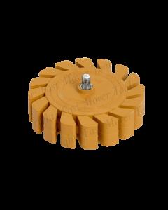 Fast Mover Tools, Eraser Wheel, Fluted Design, 100mm