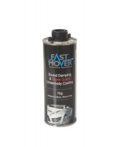 Fast Mover Tools, Stone Chip, Black, 1kg Bottle
