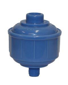 Spraygun Inline Water Trap, Plastic, 1/4BSP Thread