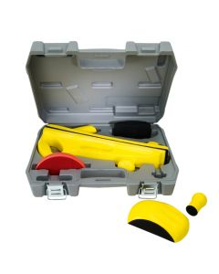 Fast Mover Tools, 6pc Long Bed Hand Sanding Block Kit, Supplied In a Plastic Carry Case