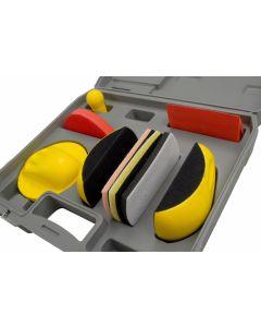 Sanding Kit, 7pc Detailing Type in Case