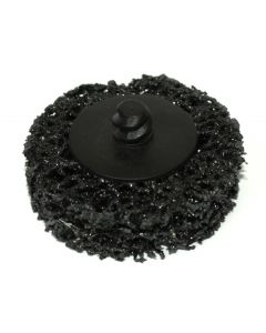 50mm Metal Cleaning Polycarbide Disc With Roll-On Adaptor, 10 Discs