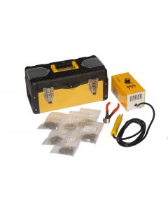 Fast Mover Tools, Electric Plastic Hot Weld Stapler Kit With Staples & Carry Case