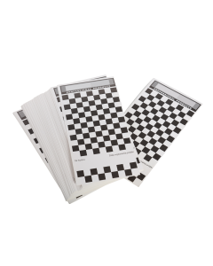 Spray Out Cards, 150mm x 105mm white card. Pk100