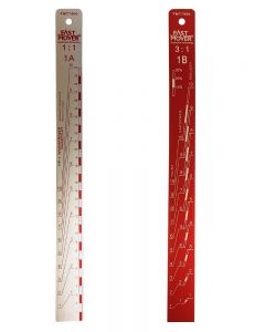 Fast Mover Tools, Paint Measuring Stick, Ratio 1:1 & 3:1, 1pc