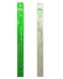 Fast Mover Tools, Paint Measuring Stick, Ratio 2:1, 1pc