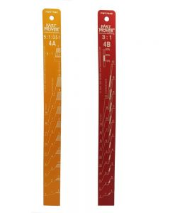 Fast Mover Tools, Paint Measuring Stick, Ratio 5:1 & 3:1, 1pc
