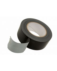 Fast Mover Tools, Heavy Duty Cloth Tape, Black, 12 Rolls