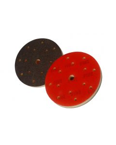 150mm Micro Fine Foam Abrasive Blending Pad With Hook & Loop For Machine Use, 20 Pads