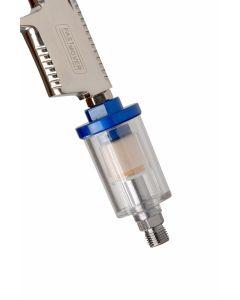 Spraygun Mini Inline Water Trap, 1/4 BSP Thread