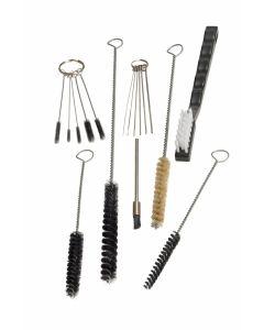 17 Pc HVLP Spray Gun Cleaning Maintenance Kit Brush Wire Lubricant Cleaner