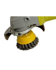 ZIP Wire Brush Wheel, Yellow, 70mm M14 Thread