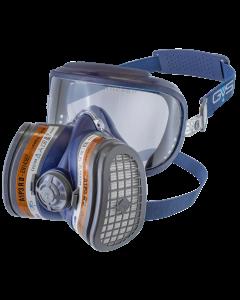 Elipse Integra Half Mask With Visor, A1P2 R D, Size M/L