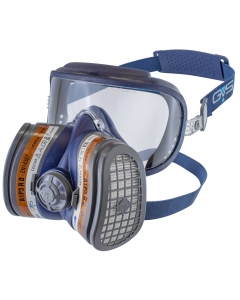 Elipse Integra Half Mask With Visor, A1P2 R D, Size S/M