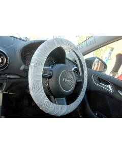 Fast Mover Tools, Elasticated Steering Wheel Covers for Cars & Vans, 250pcs