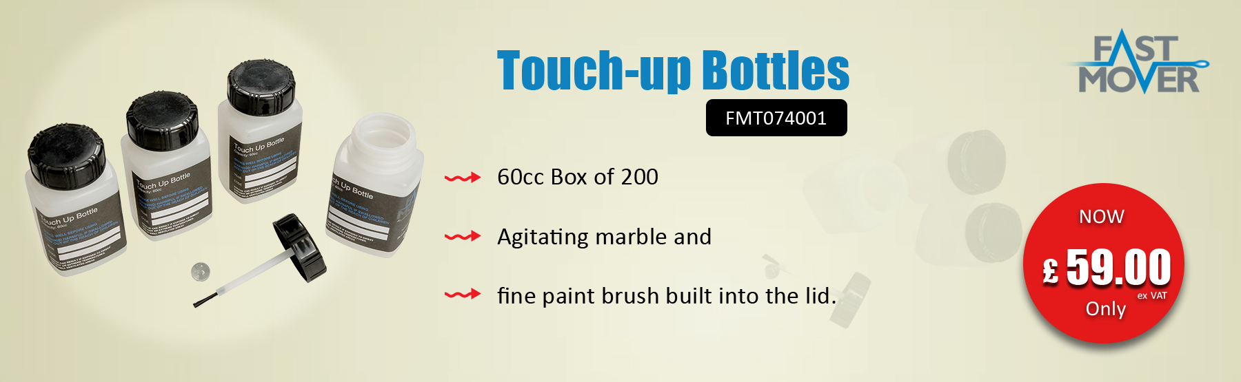 Touch Up Bottle