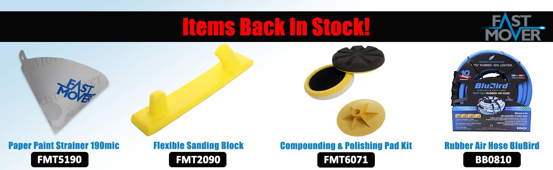 Items Back in stock